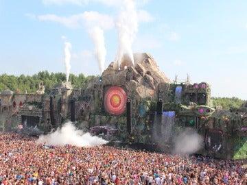 El Festival Tomorrowland en pleno apogeo