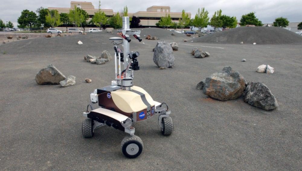 El rover planetario K10