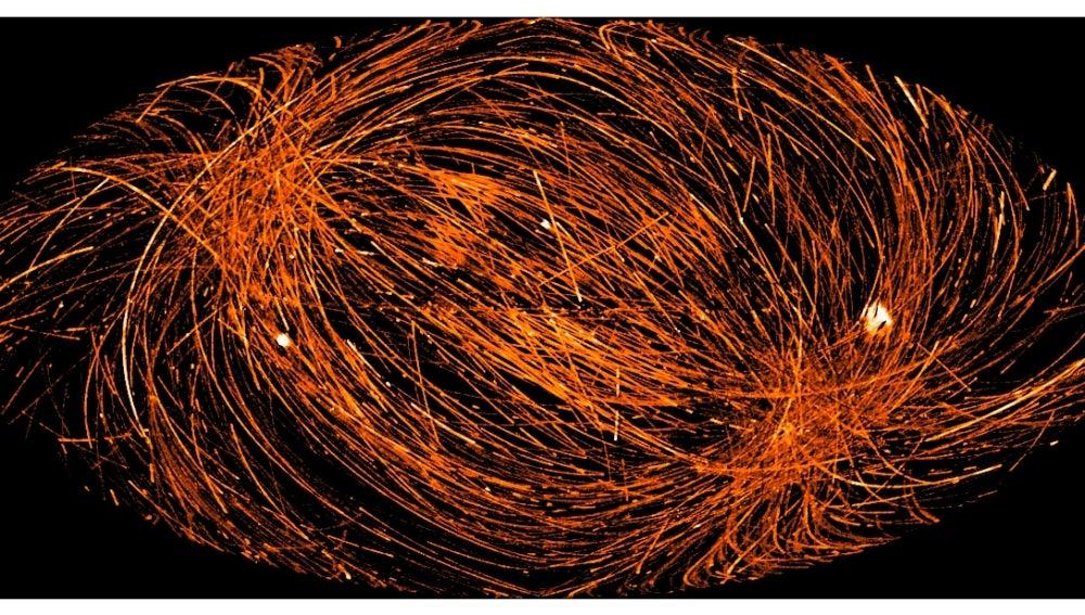 Un millar de rayos X moviéndose en el universo