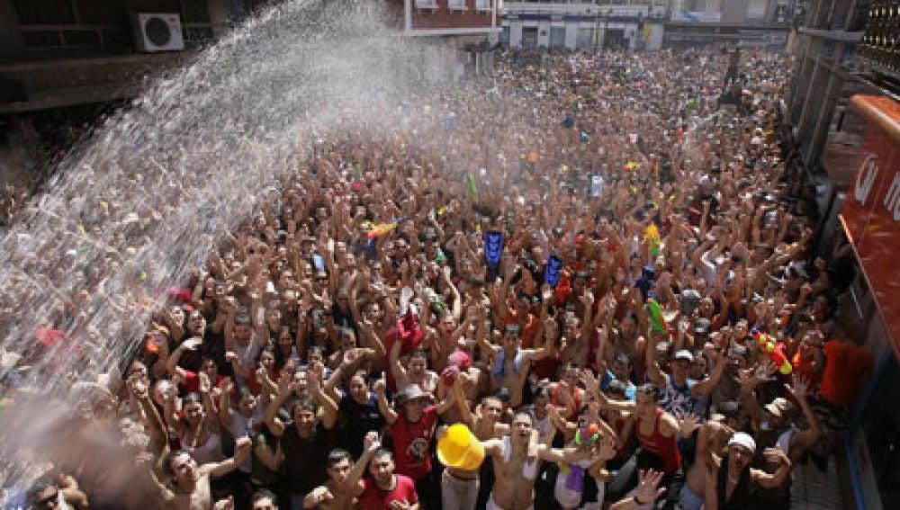 Fiesta del agua de Villagarcía de Arosa