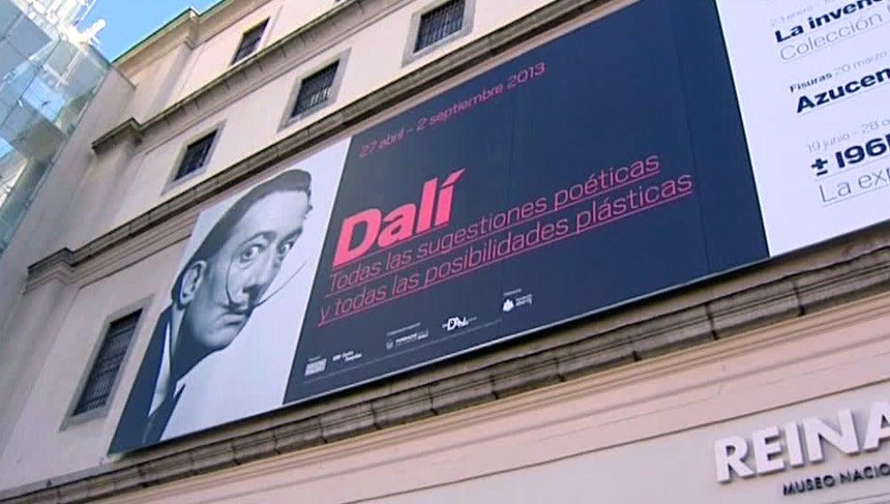 Exposición de Dalí en el Museo Reina Sofía
