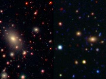 Evolución de las grandes galaxias