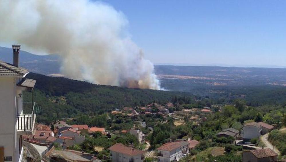 Incendio en Gavilanes, Ávila