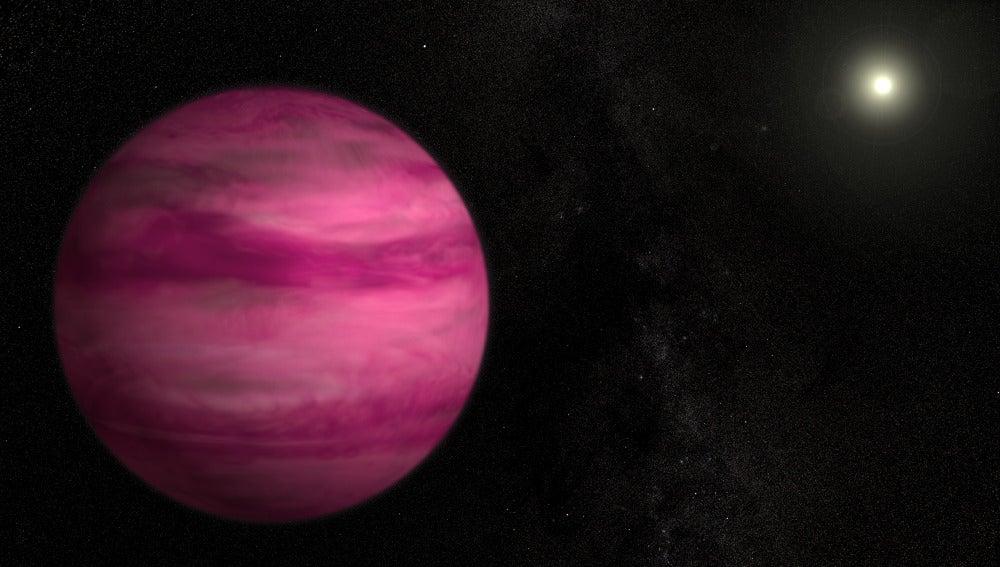 Imagen del planeta GJ504