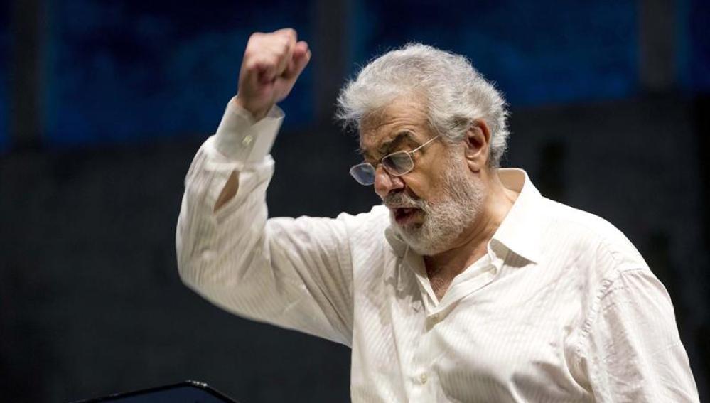 Plácido Domingo, en su regreso a los escenarios
