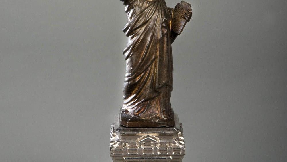Primer souvenir de la Estatua de la Libertad
