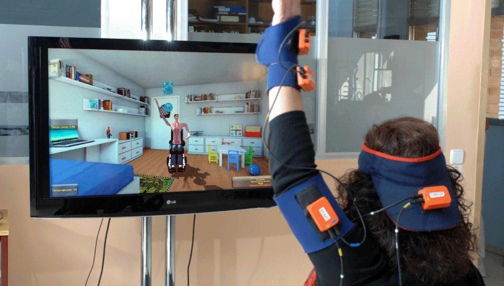 Realidad Virtual y Captación de Movimiento permiten la rehabilitación desde casa