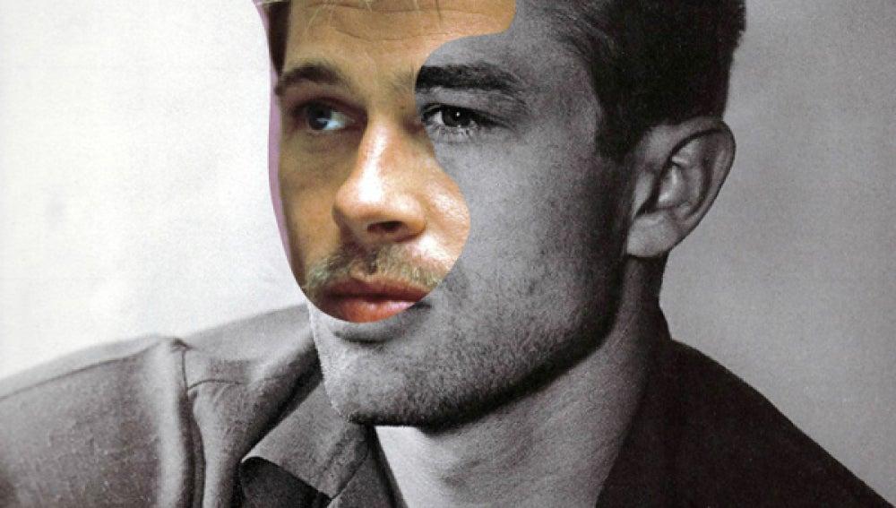 Brad Pitt y James Dean