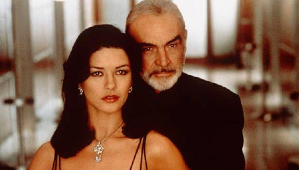 Sean Connery y Catherine Zeta-Jones juntos en 'La Trampa'
