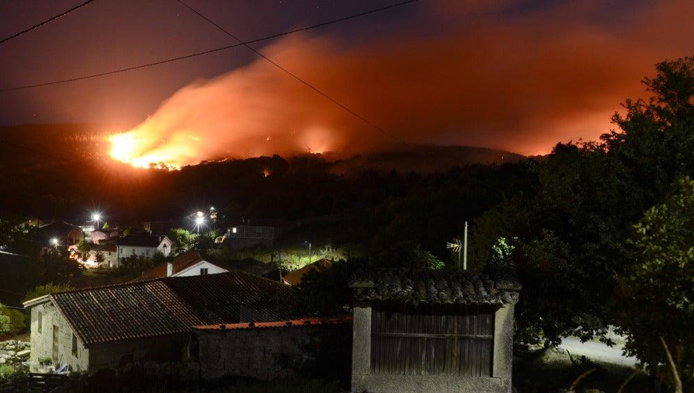 El pueblo de Pombar, en Nogueira de Ramuín