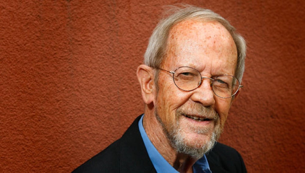 El escritor Elmore Leonard