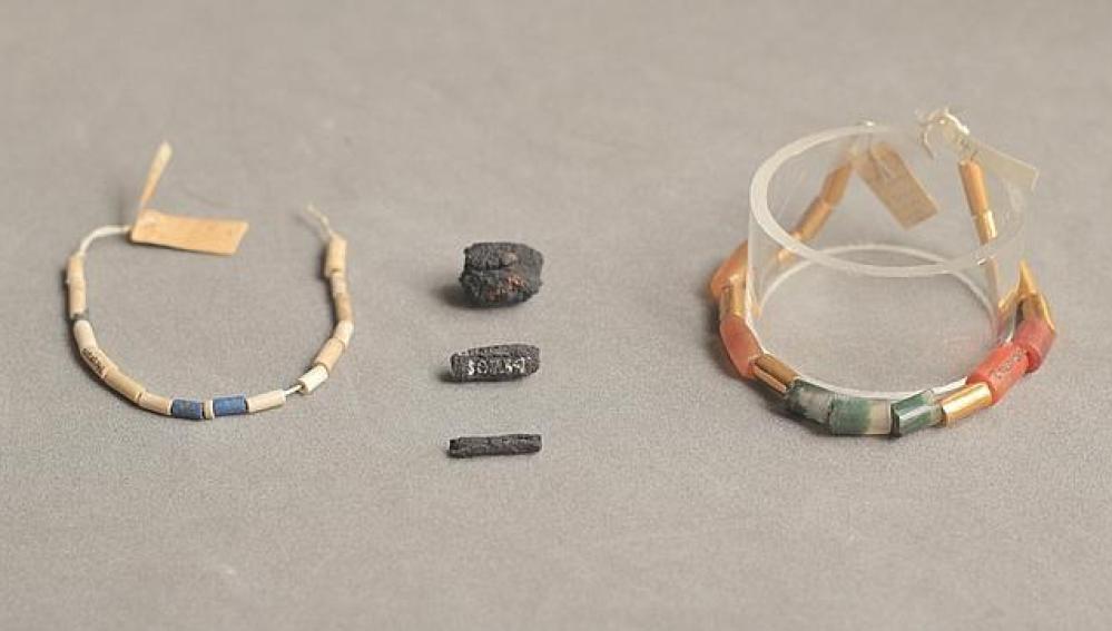 Los abalorios creados a partir de meteoritos