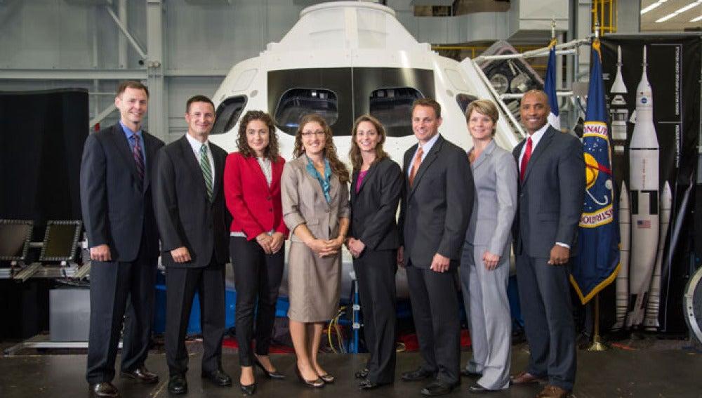 Nuevos astronautas de la NASA