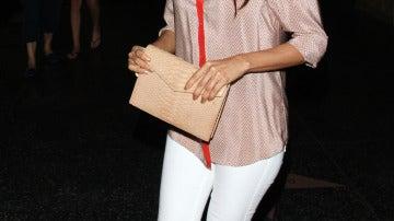 Eva Longoria con un look muy casual