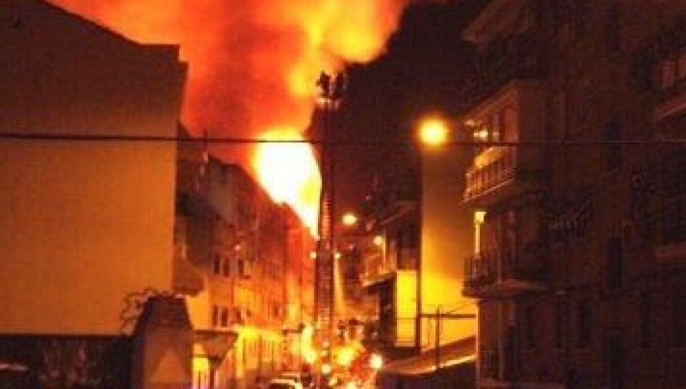 Incendio Tetuán