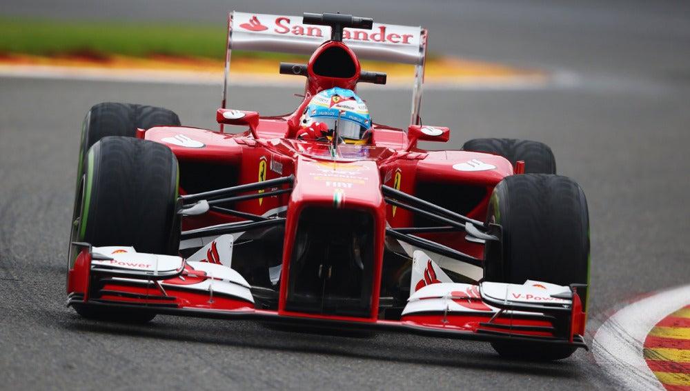 Alonso, sobre Spa