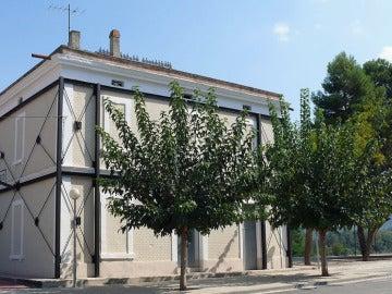 Estación de tren de Ascó, en Tarragona