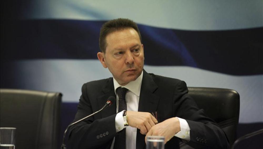 El ministro griego de Finanzas, Yannis Sturnaras.