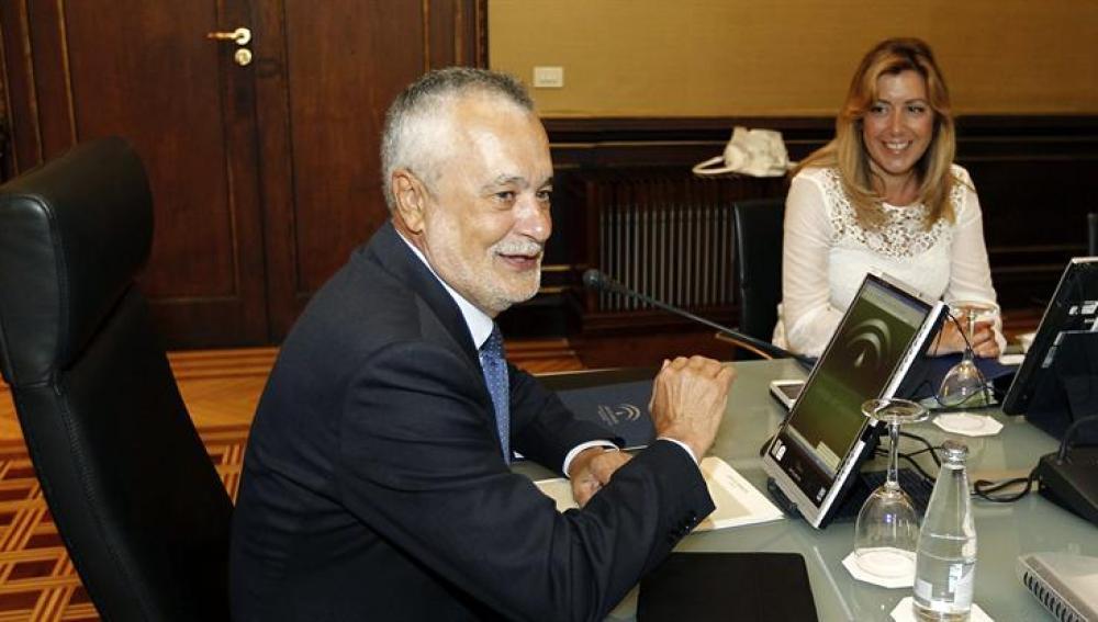 El presidente andaluz, José Antonio Griñan