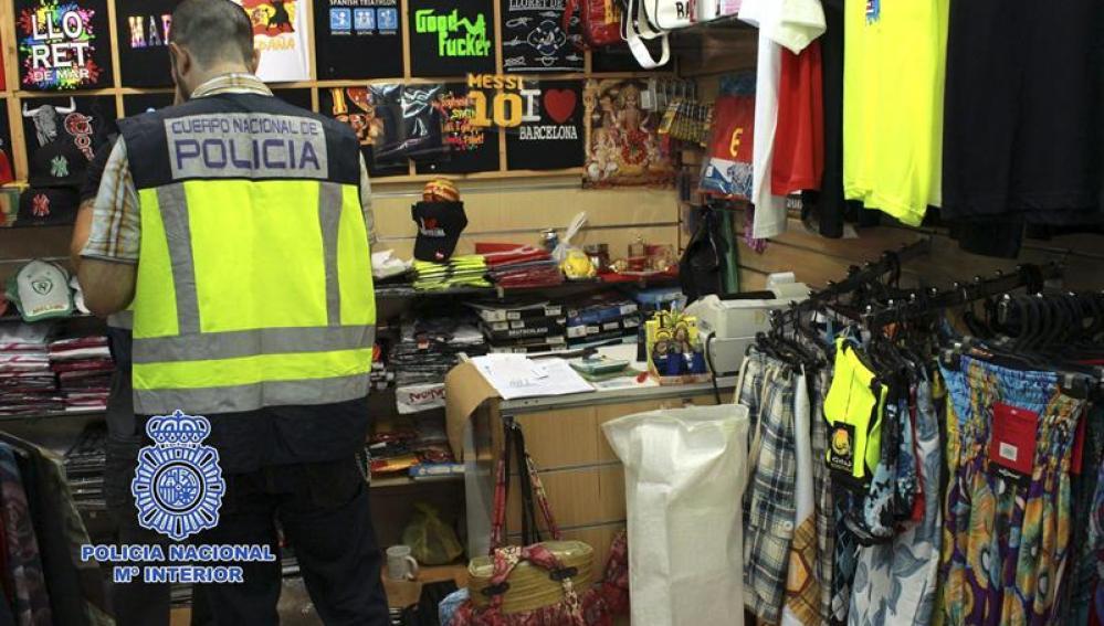 Artículos intervenidos en Girona