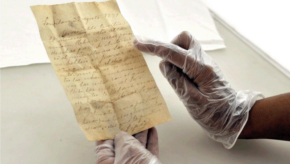 Carta de Amor del siglo XIX
