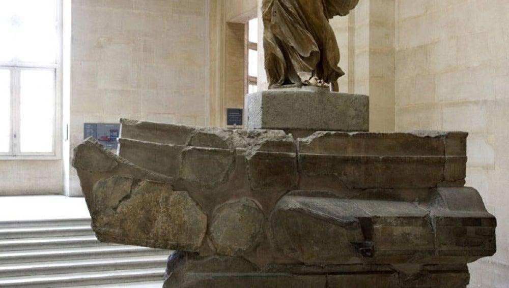 La Victoria de Samotracia, en el Louvre