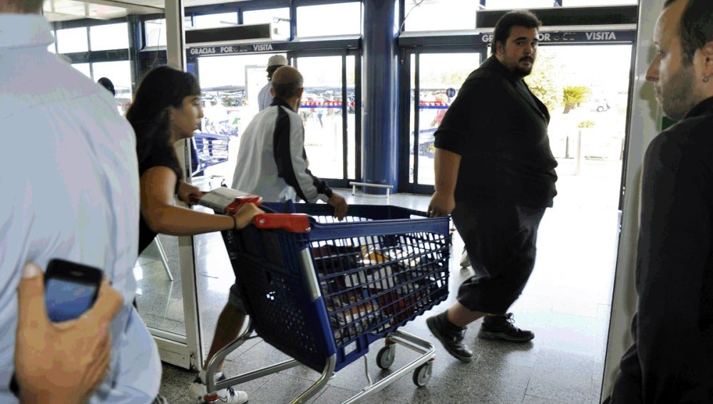 Asalto a un supermercado del SAT