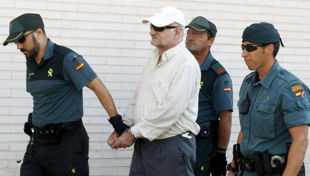 El pederasta Daniel Galván llega a los juzgados de Torrevieja
