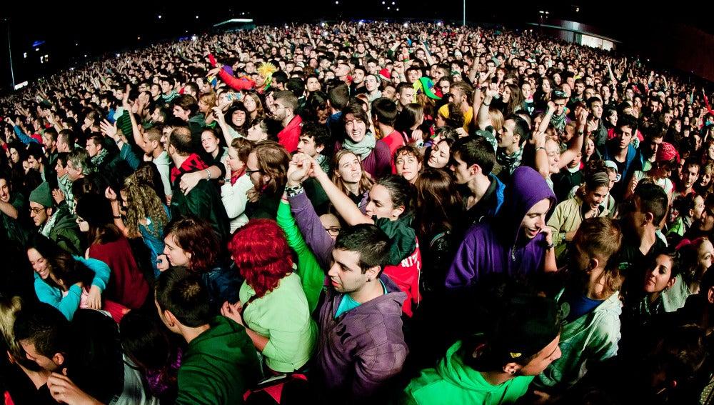Casi 46.000 personas disfrutaron en Bilbao del festival En Vivo