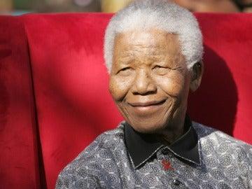 El expresidente sudafricano, Nelson Mandela