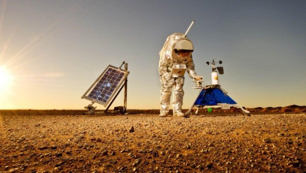 Simulacro de misión a Marte