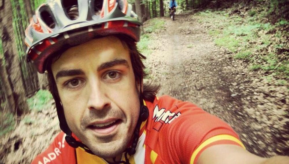 Fernando Alonso y su idilio con el ciclismo