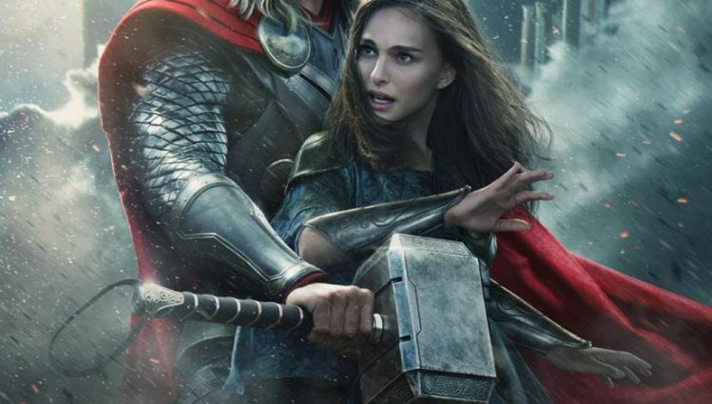 'Thor' protege a Nathalie Portman