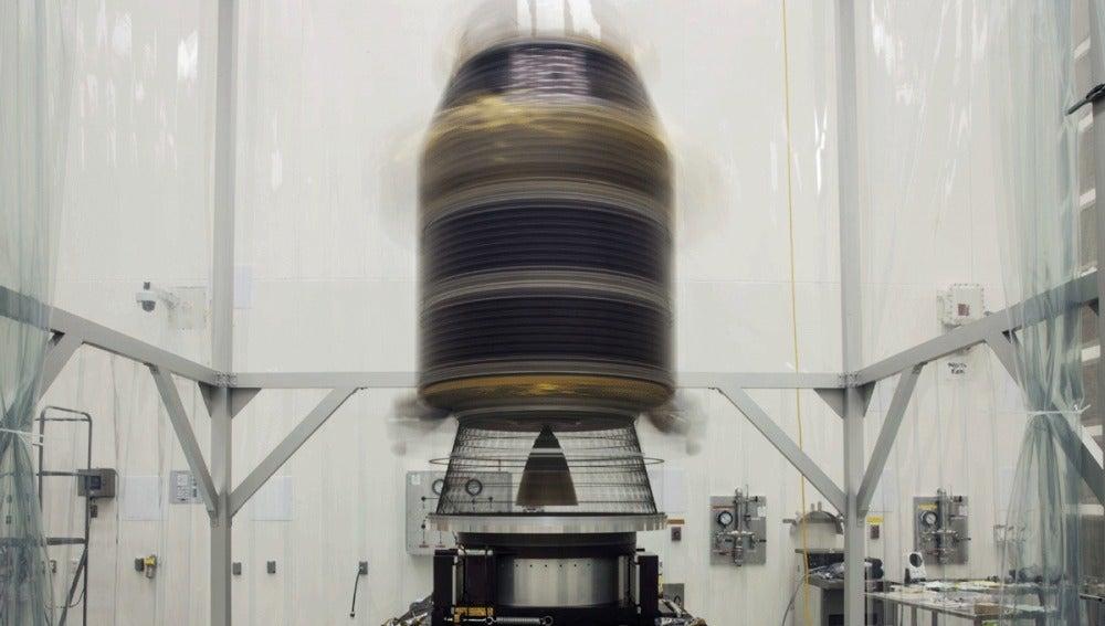 Sonda espacial enviada a la Luna