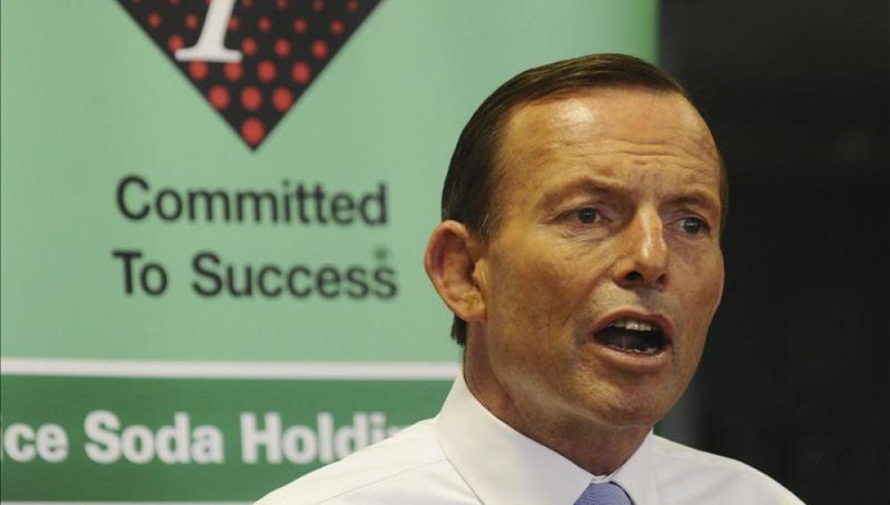 El conservador, Tony Abbott