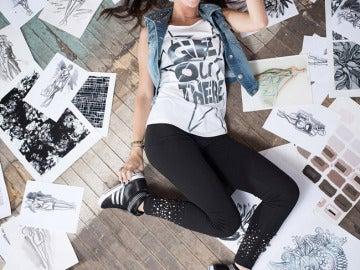 Selena Gomez en la campaña publicitaria de Adidas