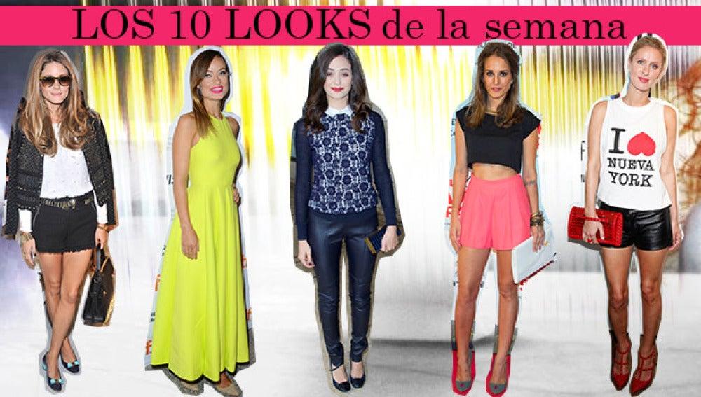 Los 10 mejores looks de la semana