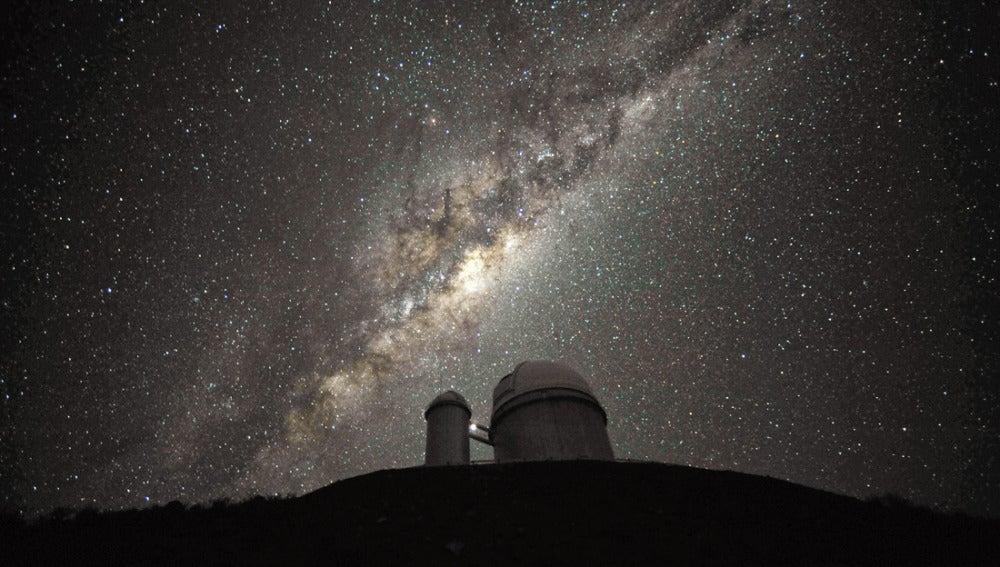 La Vía Láctea en el cielo (12-09-2013)