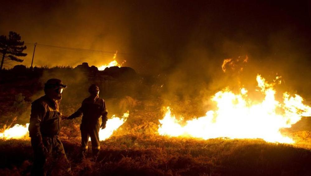Incendio en Carnota