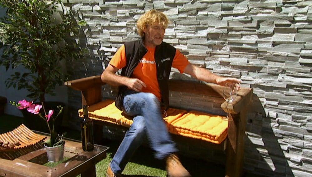 Antena 3 tv la construcci n de una caseta de jard n en for Bricomania jardin