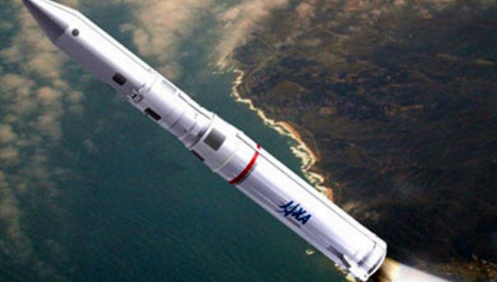 Cohete espacial japonés