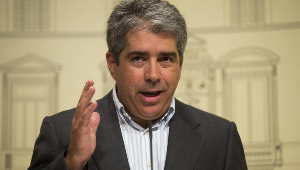 El portavoz de la Generalitat de Cataluña, Francesc Homs
