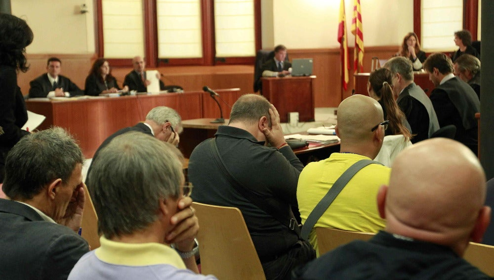 """Imagen del juicio del caso """"Saratoga"""""""