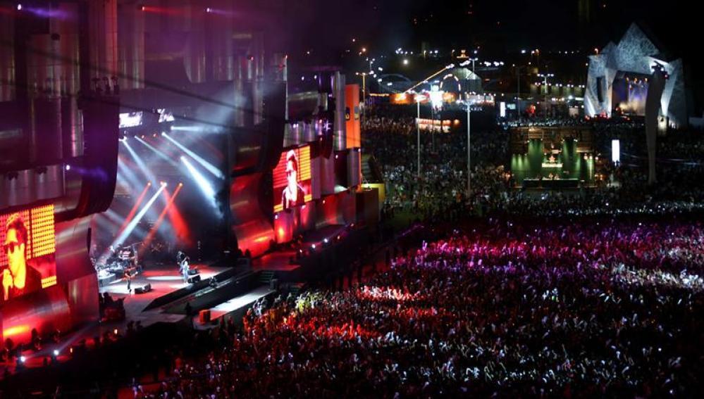 'Rock in Rio' triunfa en Brasil