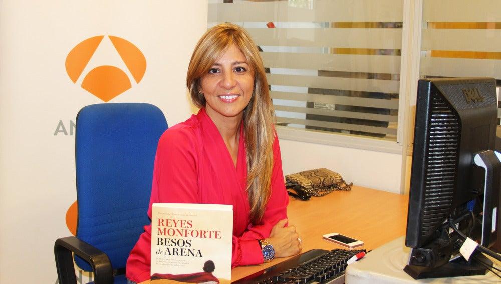 Reyes Monforte en un encuentro digital en Antena 3