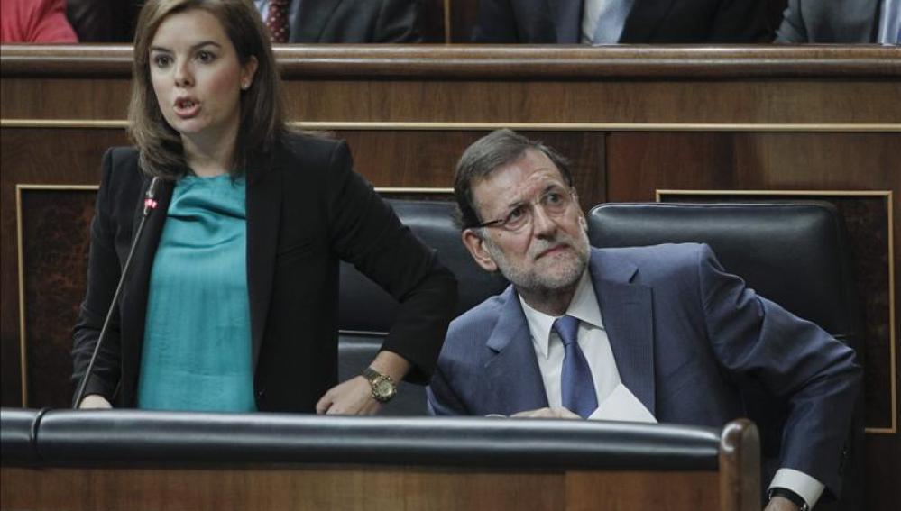 Sáenz de Santamaría en el Congreso de los Diputados