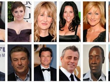 Nominados mejor actor/actriz principal de comedia Emmy 2013