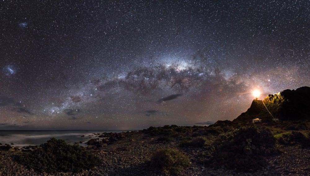 Luz de guía hacia las estrellas