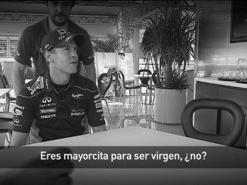 La entrevista más comprometida de Vettel