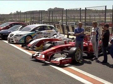 Cheste compara un Fórmula 1 con otros coches